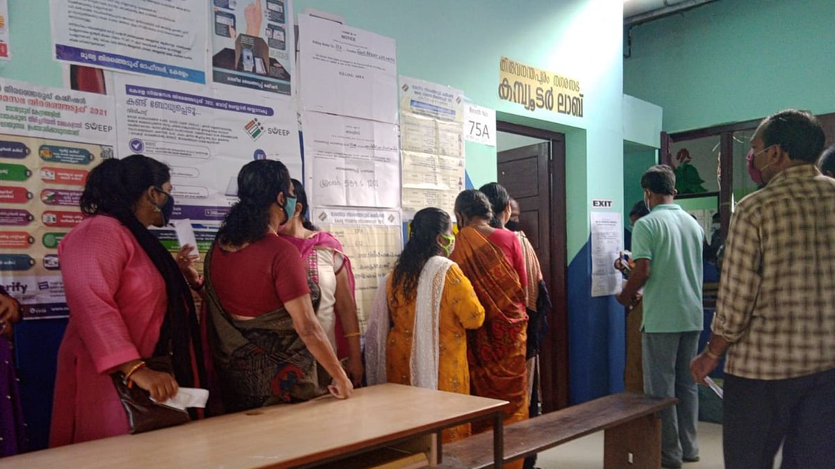 Kerala: Polling begins in the wake of contrasting campaigns and conflicting claims