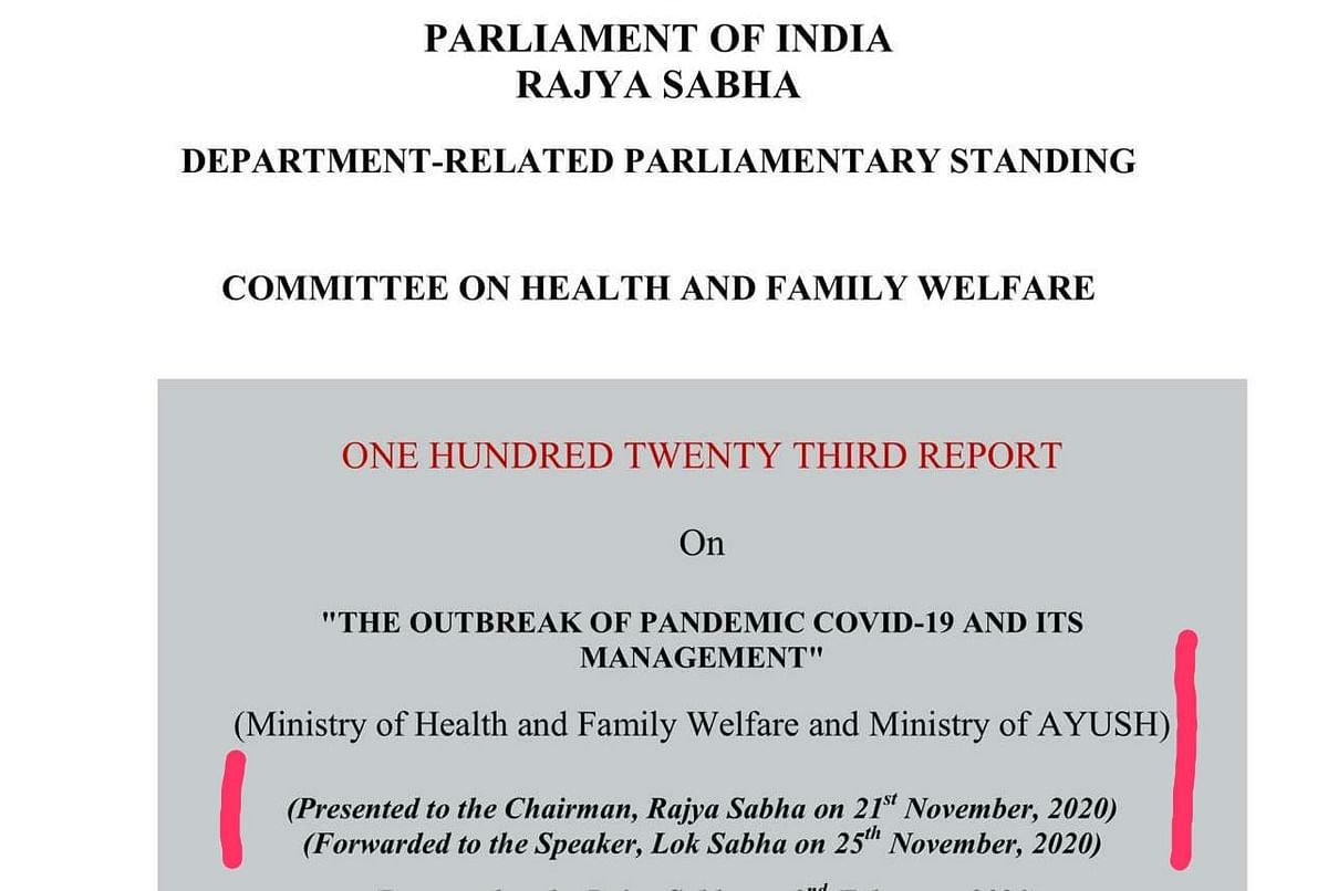 Modi govt ignored recommendations given by PAC on Health & Welfare for mass vaccination: Congress