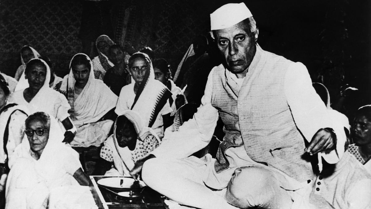 People forget Nehru struggled for freedom for 30 years, spending nine of them in jail