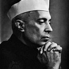 Former PM Jawaharlal Nehru