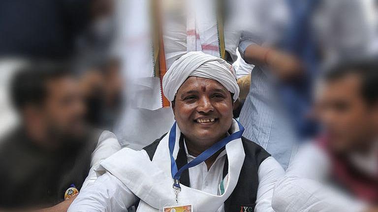 Indian Youth Congress president B.V. Srinivas