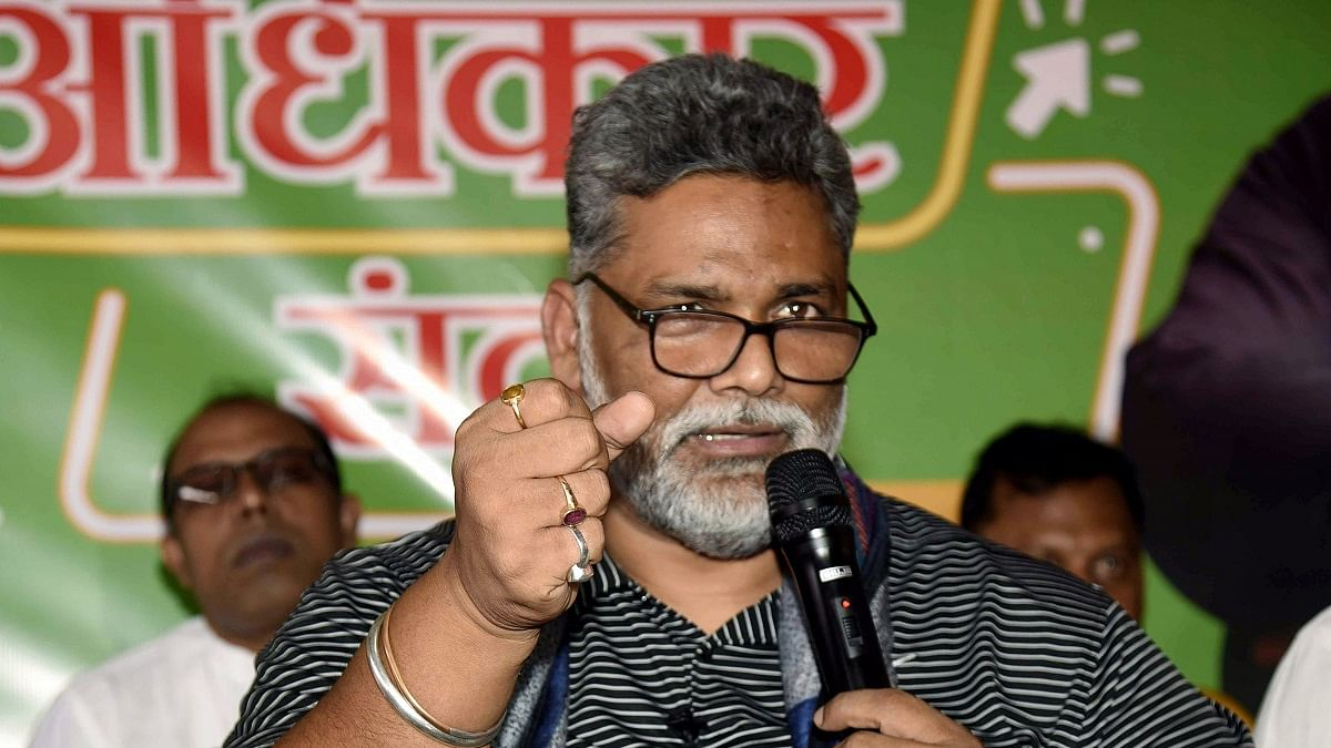 Pappu Yadav raids parked ambulances purchased from Rudy's MP fund; police register FIR against JAP leader