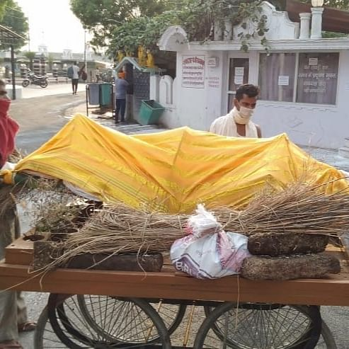 Covid pandemic and dance of death in UP and Bihar