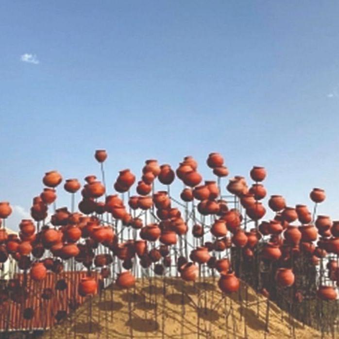 The installation at Shahjahanpur on the Delhi-Rajasthan border