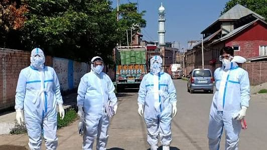 A team of health workers works hard despite odds to fight pandemic in one of Kashmir's outlying districts