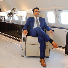 Who could be threatening high flier and 'Vaccine Prince' Adar Poonawalla and why ?