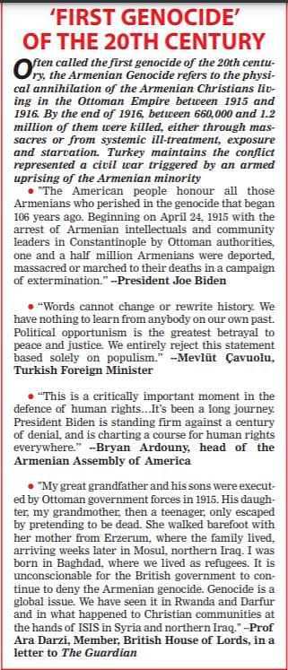 US recognition of Armenian genocide puts US-Turkish relations under fresh strain