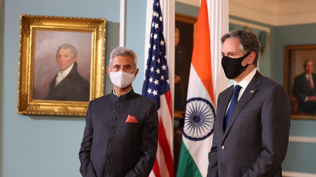 India's foreign minister ran away from answering question on discrimination