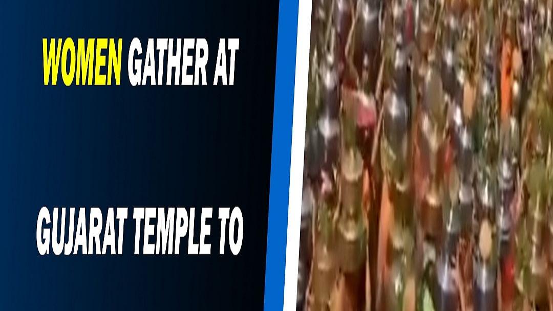 Thousands of women gather at Gujarat temple to 'eradicate' Coronavirus