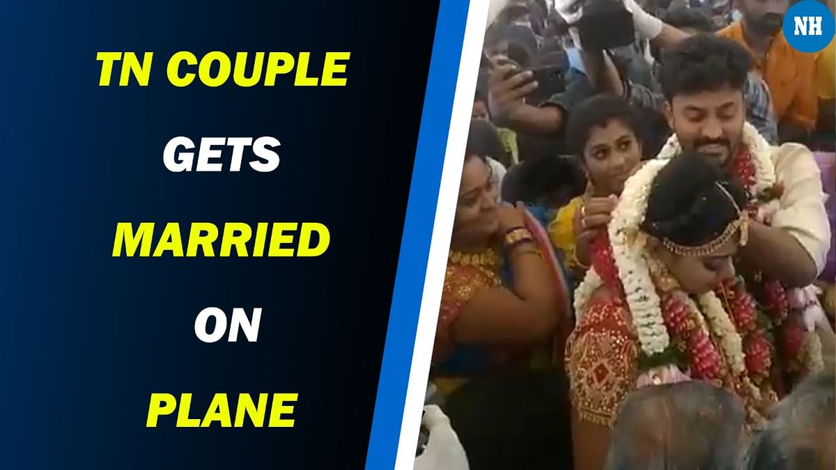 TN couple gets married on plane to avoid Covid restrictions