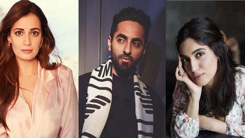 Ayushmann Khurrana, Bhumi Pednekar and Dia Mirza join #jaagore