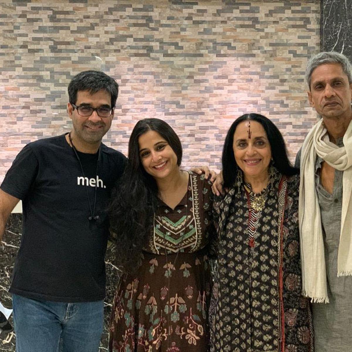 (L-R) Mukul Chadda, Vidya Balan, Ila Arun and Vijay Raaz