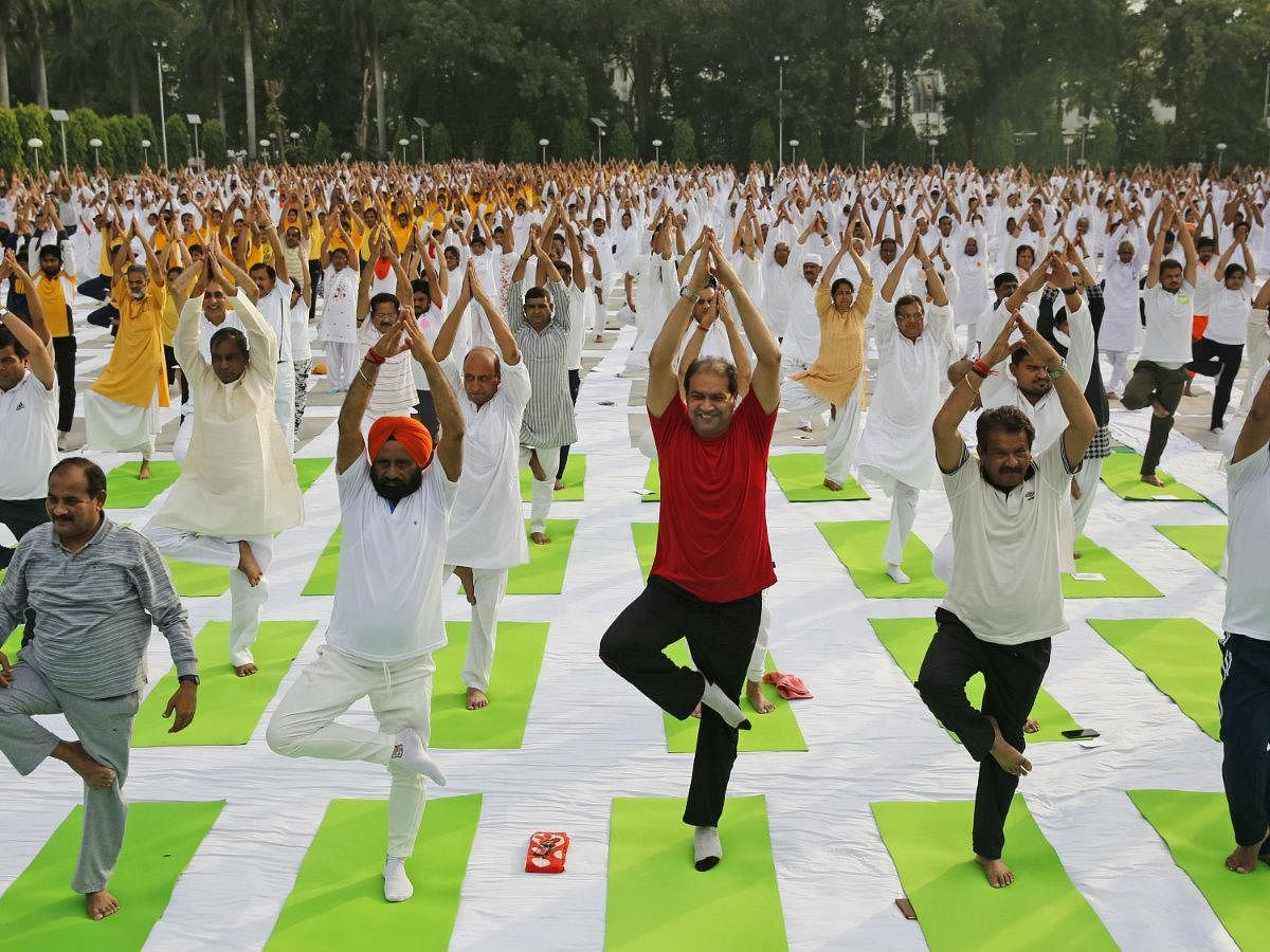 YOGA is just an exercise, was a Western fad, is not an extension of Hinduism and should be optional