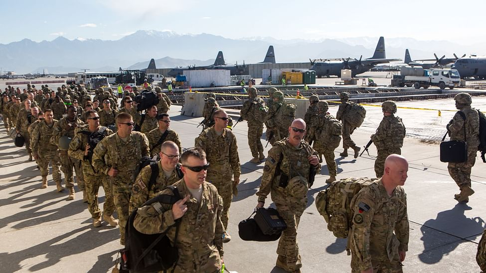US forces withdrawal from Afghanistan began in May and is expected to be completed before September