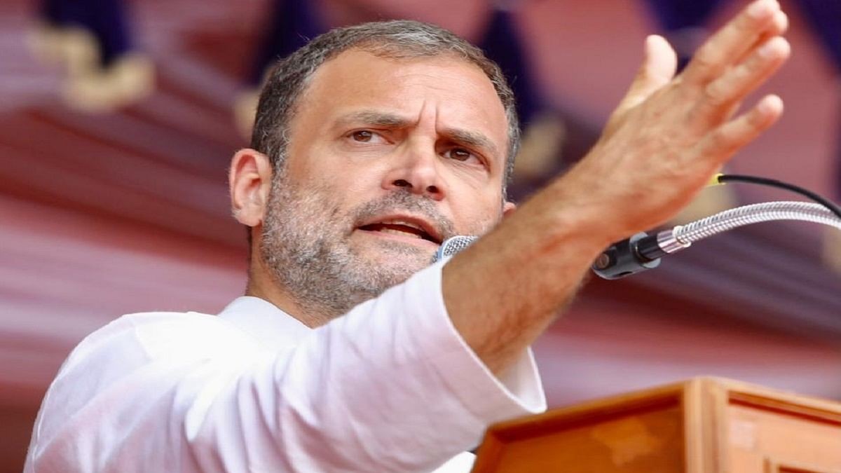 He's been reading, everything on your phone: Rahul Gandhi on phone tapping row