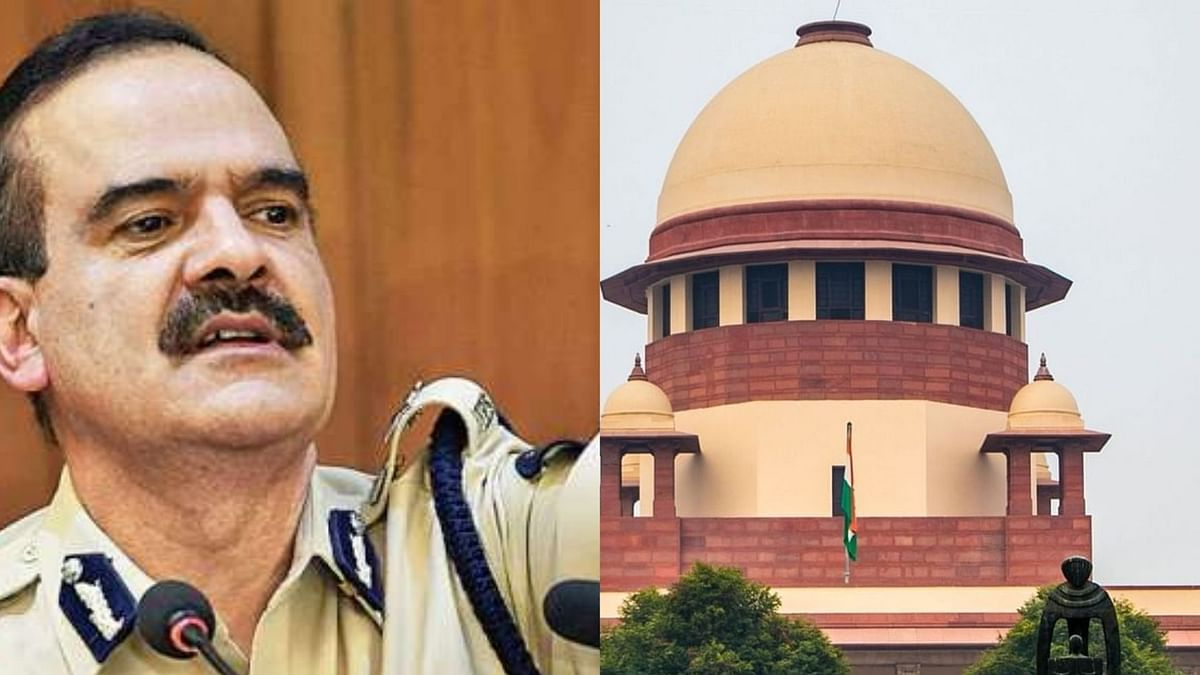'Persons in glasshouses should not throw stones at others': SC to ex-Mumbai CP Param Bir Singh; plea withdrawn