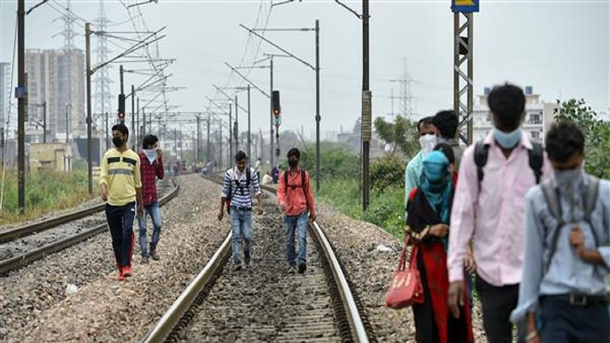 Over 8,700 people died on railway tracks during lockdown year 2020, many of them migrants, reveals RTI reply