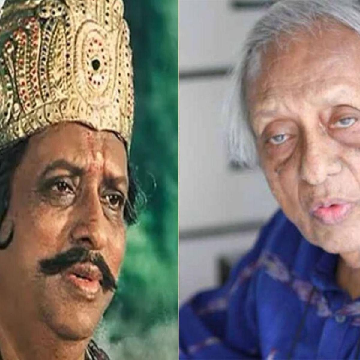 Ramayan actor Chandrashekhar's