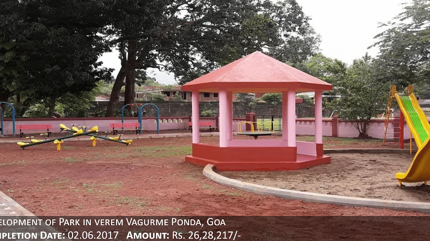 A park in Goa developed from MPLAD fund (For representational purpose only)