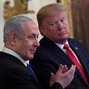 Benjamin Netanyahu with Donald Trump