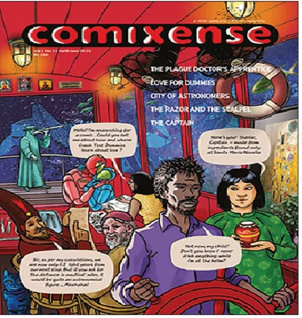 Comixense Review- Intelligence, imagination and empathy