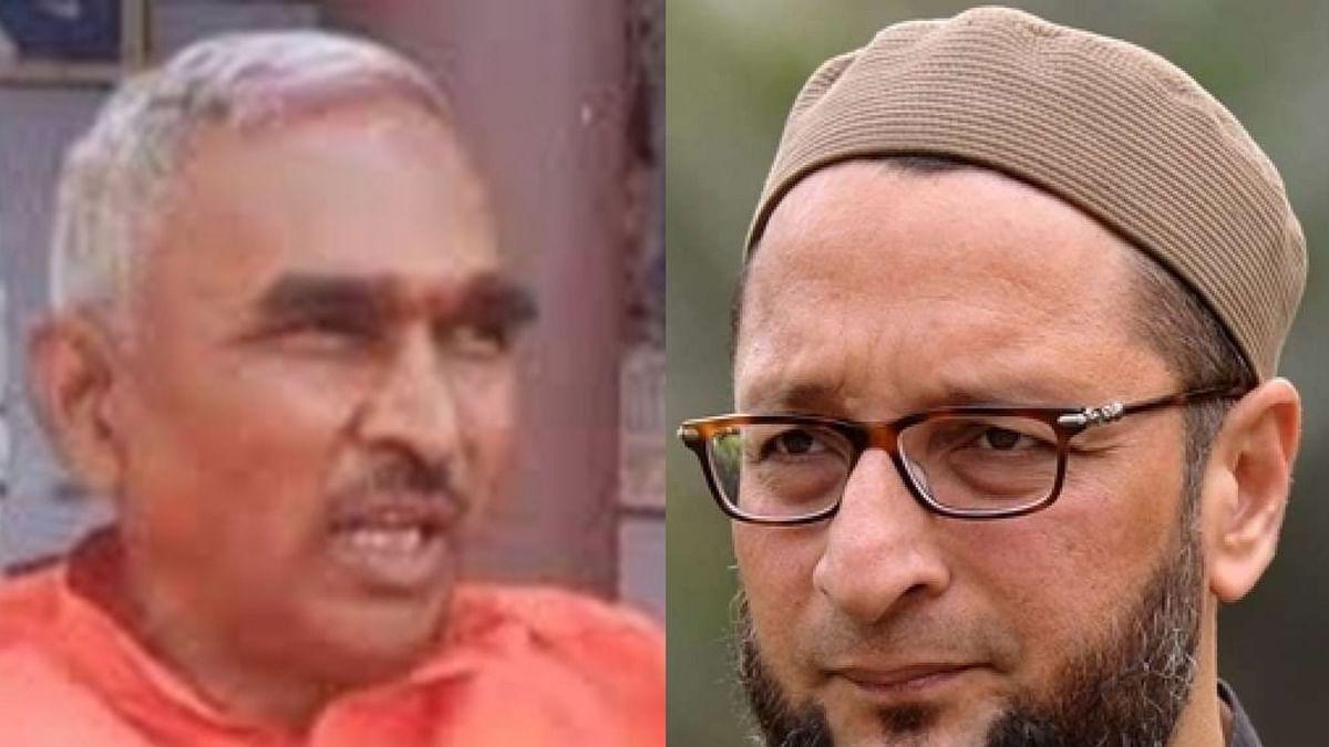 Owaisi is a 'political terrorist': UP BJP MLA