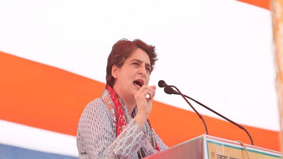 Priyanka slams UP govt for less procurement of wheat