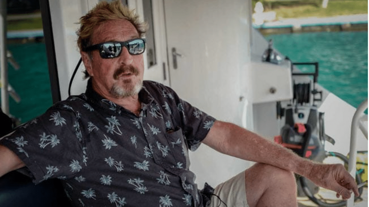 McAfee antivirus software creator dead in Spanish prison