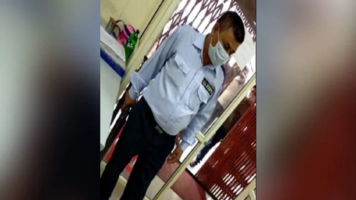 Shocking! Bank guard in UP shoots customer for not wearing mask