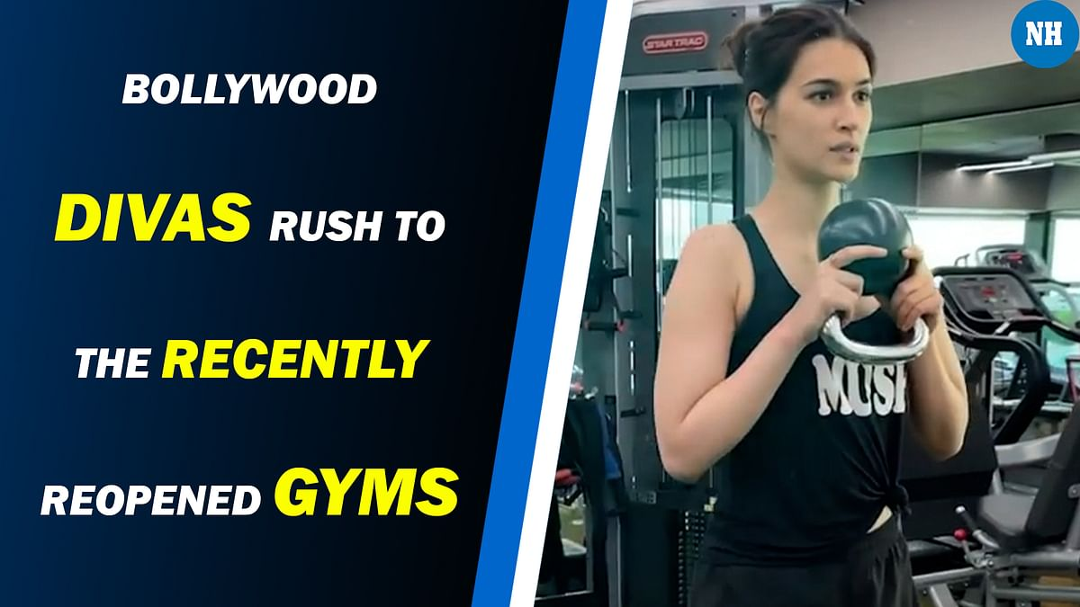 Celebs rush to break a sweat after relaxing in the lockdown