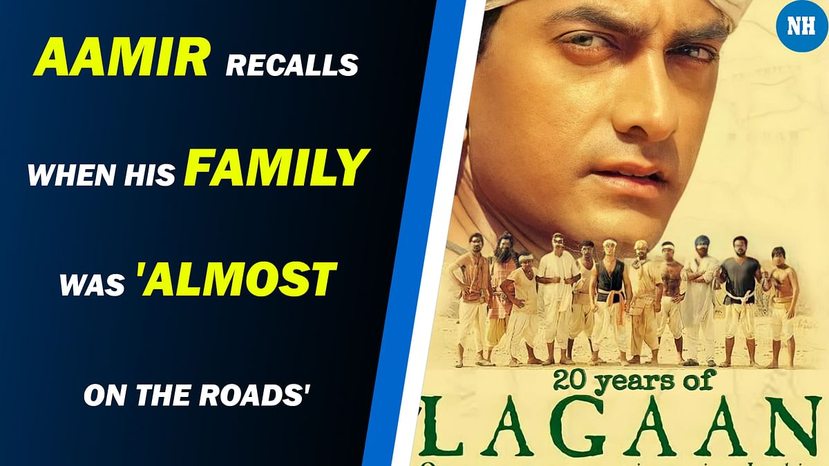 Aamir Khan recalls the time when his family was 'almost on the roads'