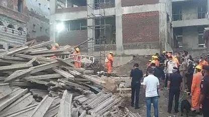 Two killed, 7 injured in building collapse in Varanasi