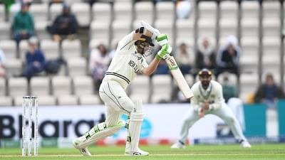 WTC final: New Zealand 101/2, replying to India's 217 on Day 3