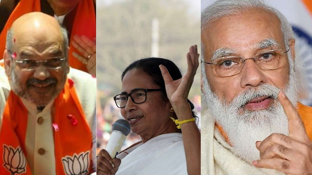 Almost two months after BJP's humiliating loss in Bengal, Modi-Shah duo continue to needle Mamata Banerjee