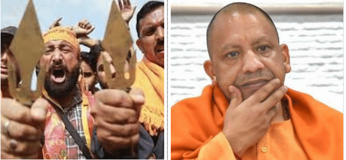 Forced to stick with Yogi despite facing defeat in UP, BJP resorts to stirring the communal cauldron
