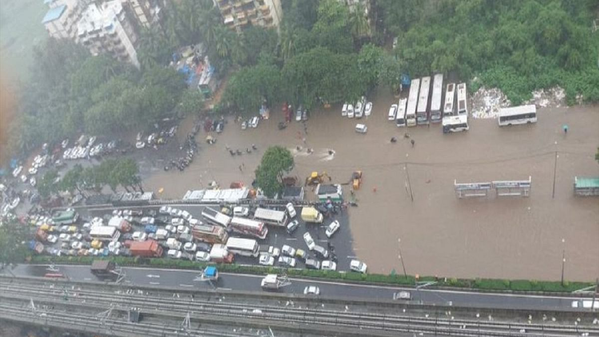 Heavy rains pound Mumbai; 250 people shifted as Mithi river swells, local train services hit