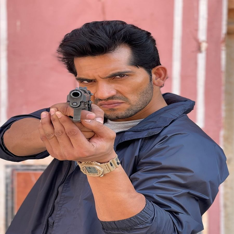 Actor Abhilash Chaudhary