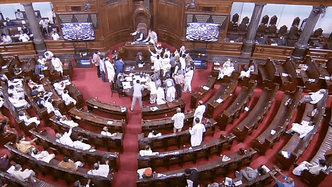 Lok Sabha adjourned for the day amid repeated disruptions over Pegasus row