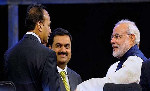 Fallout of Modinomics: favoured cronies growing faster at the expense of others