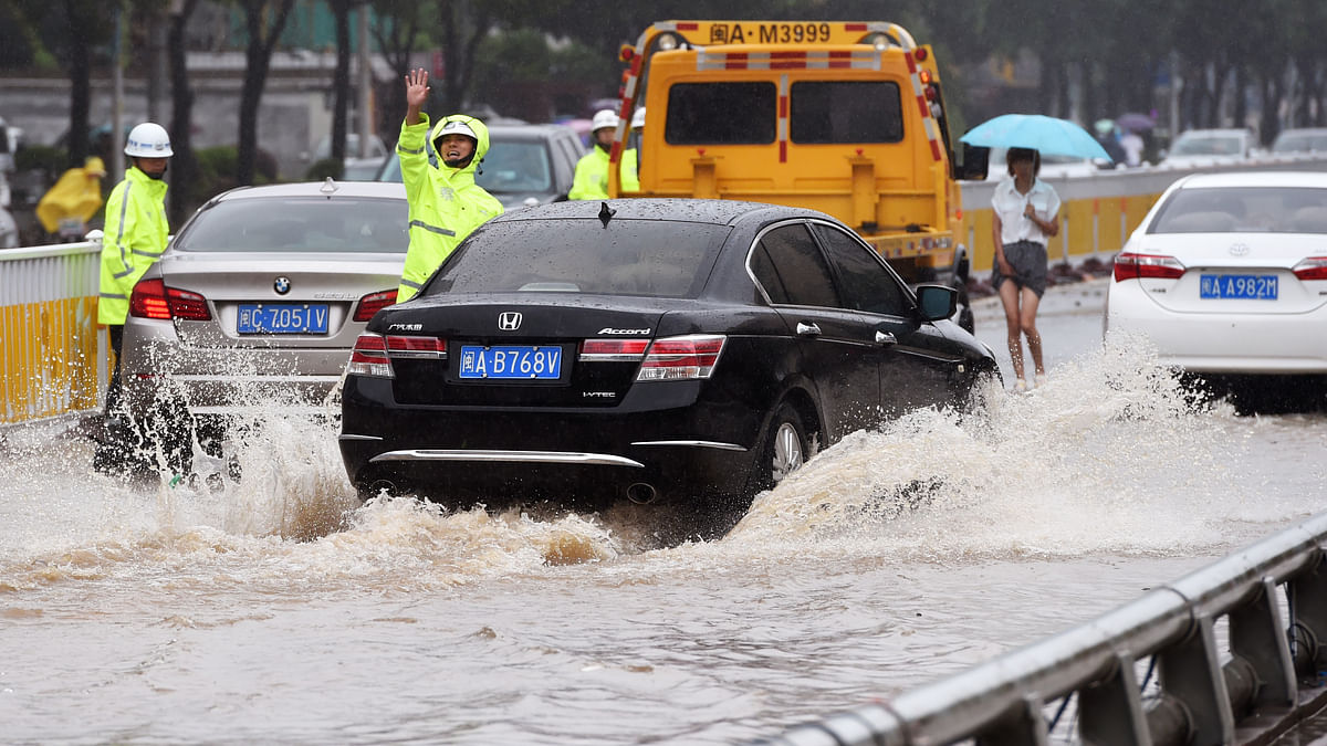 Rainstorms affect over 500K people in China, alert level upgraded