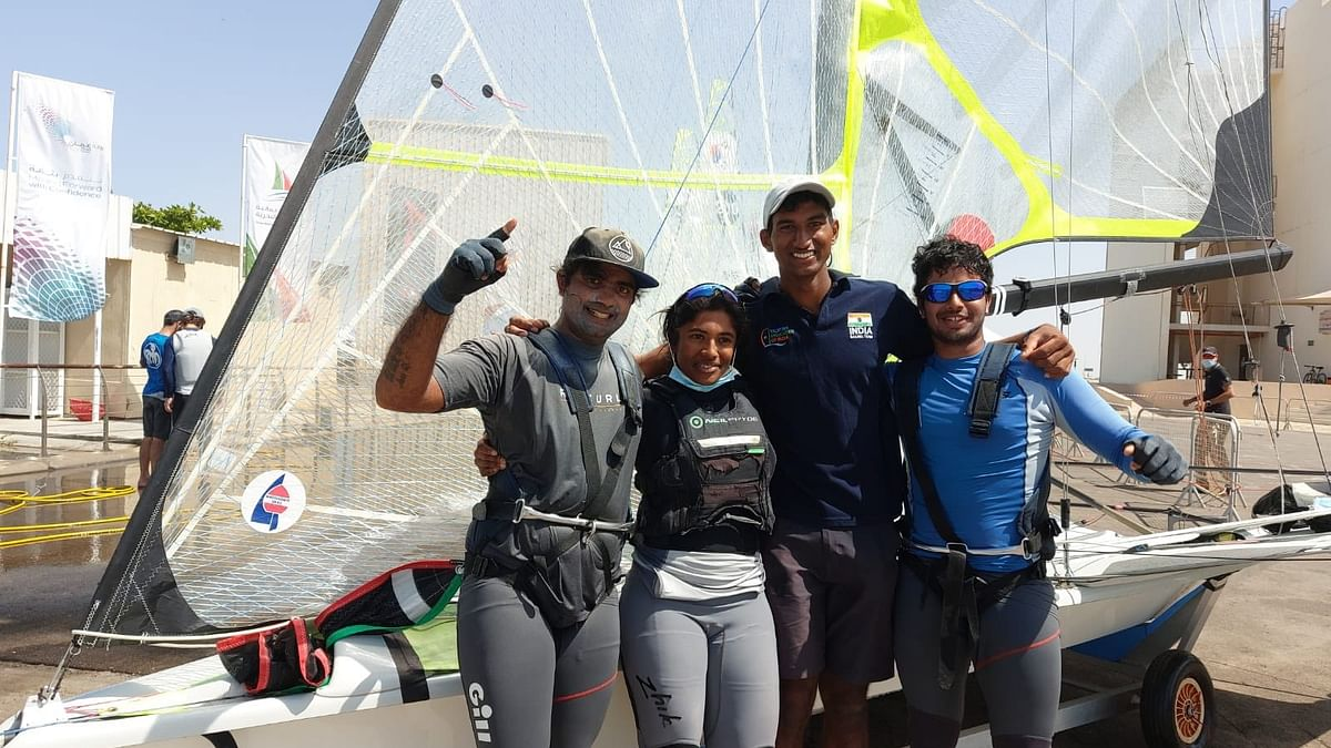 The Tokyo Olympics marks the debut of all four Indian sailors in the mega event