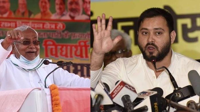 Nitish Kumar and Tejashwi Yadav