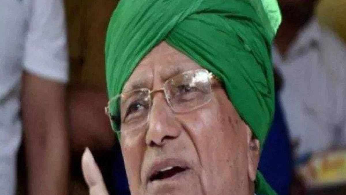 O P Chautala released from Tihar Jail