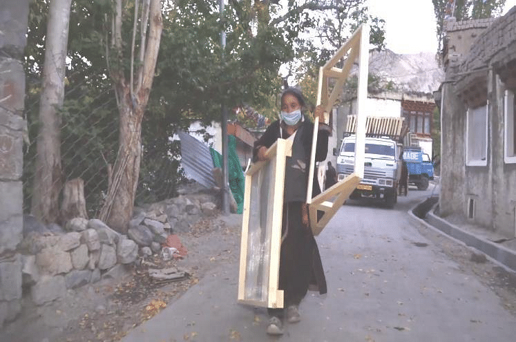 This organisation works tirelessly to bring clean energy in hilly terrains of Ladakh