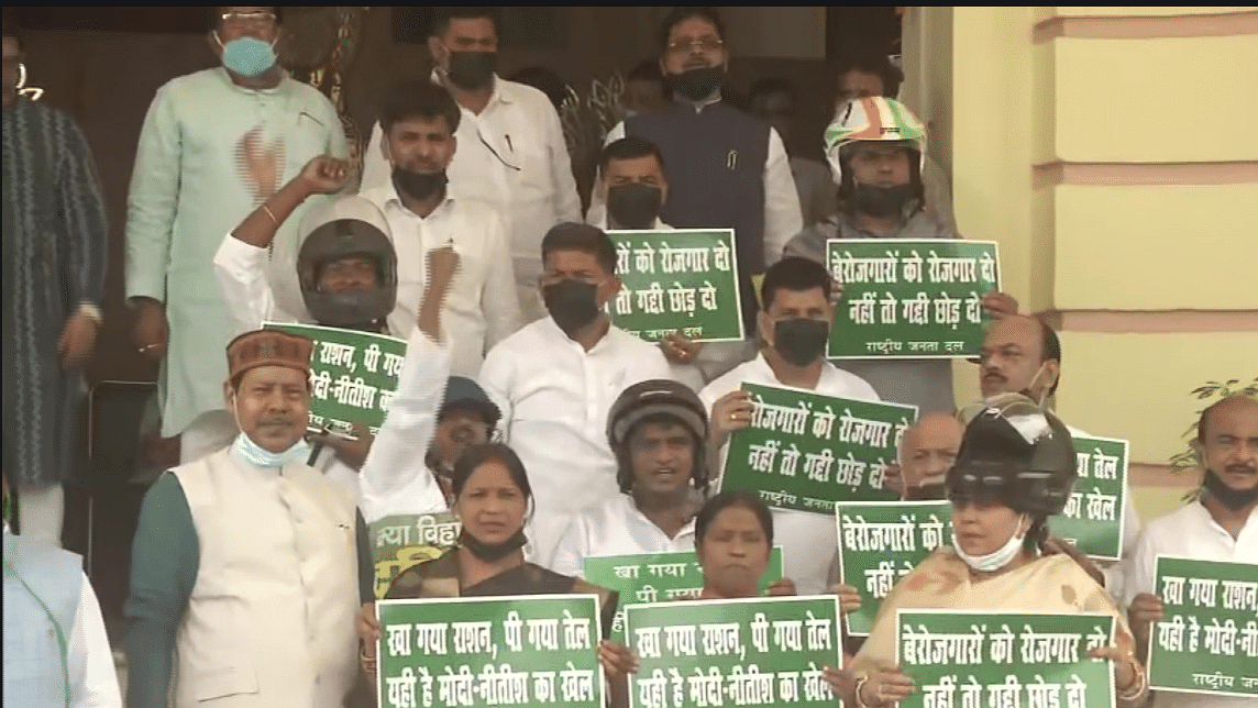 After two days of acrimony, Bihar Assembly witnesses conviviality