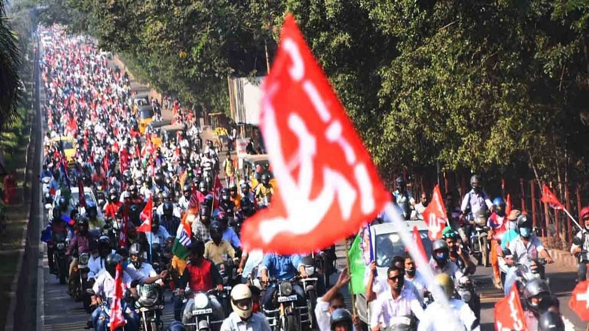 Vizag steel plant protests enter 150th day, hundreds rally on bikes