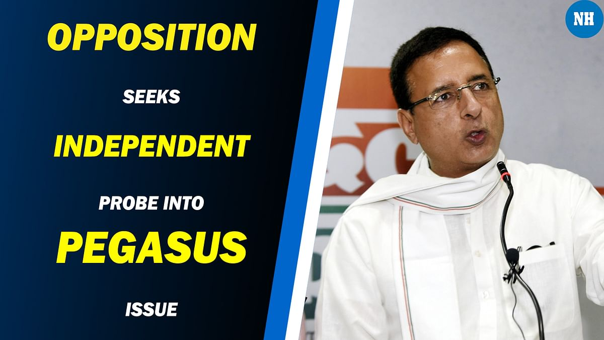 Opposition seeks independent probe into Pegasus issue