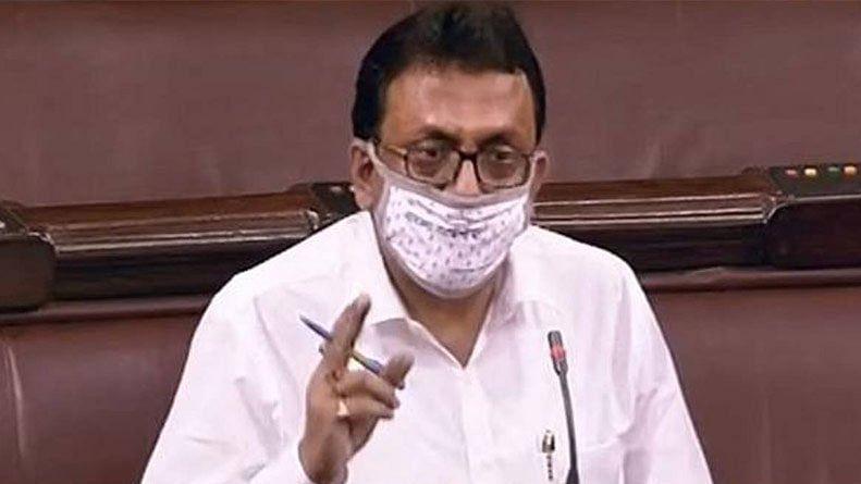 TMC MP Shantanu Sen suspended from Rajya Sabha for remaining part of monsoon session