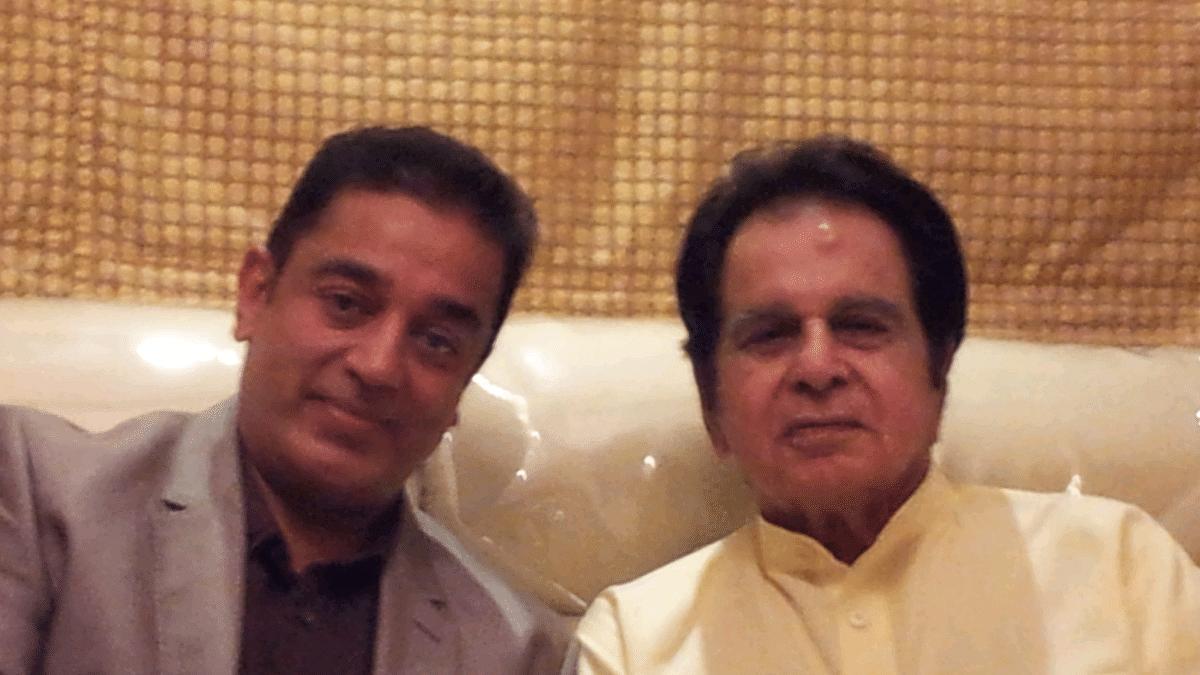 """I'm very upset with Dilip Saab for retiring 40 years too early,"" Says Kamal Haasan"