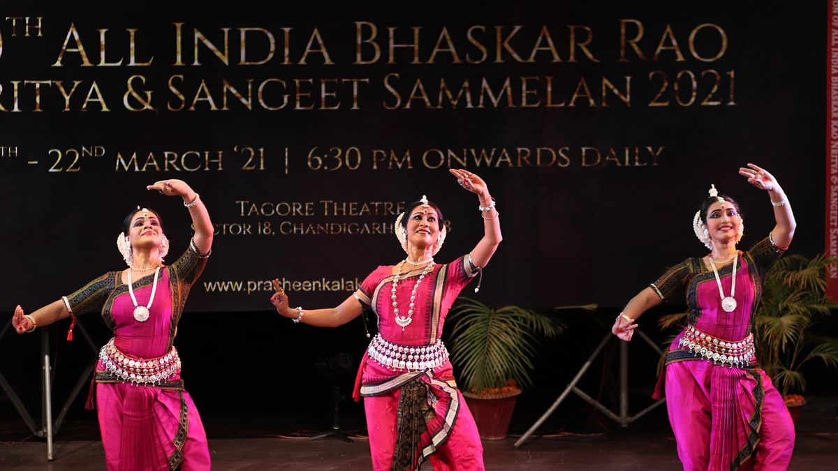 An Odissi performance at the event